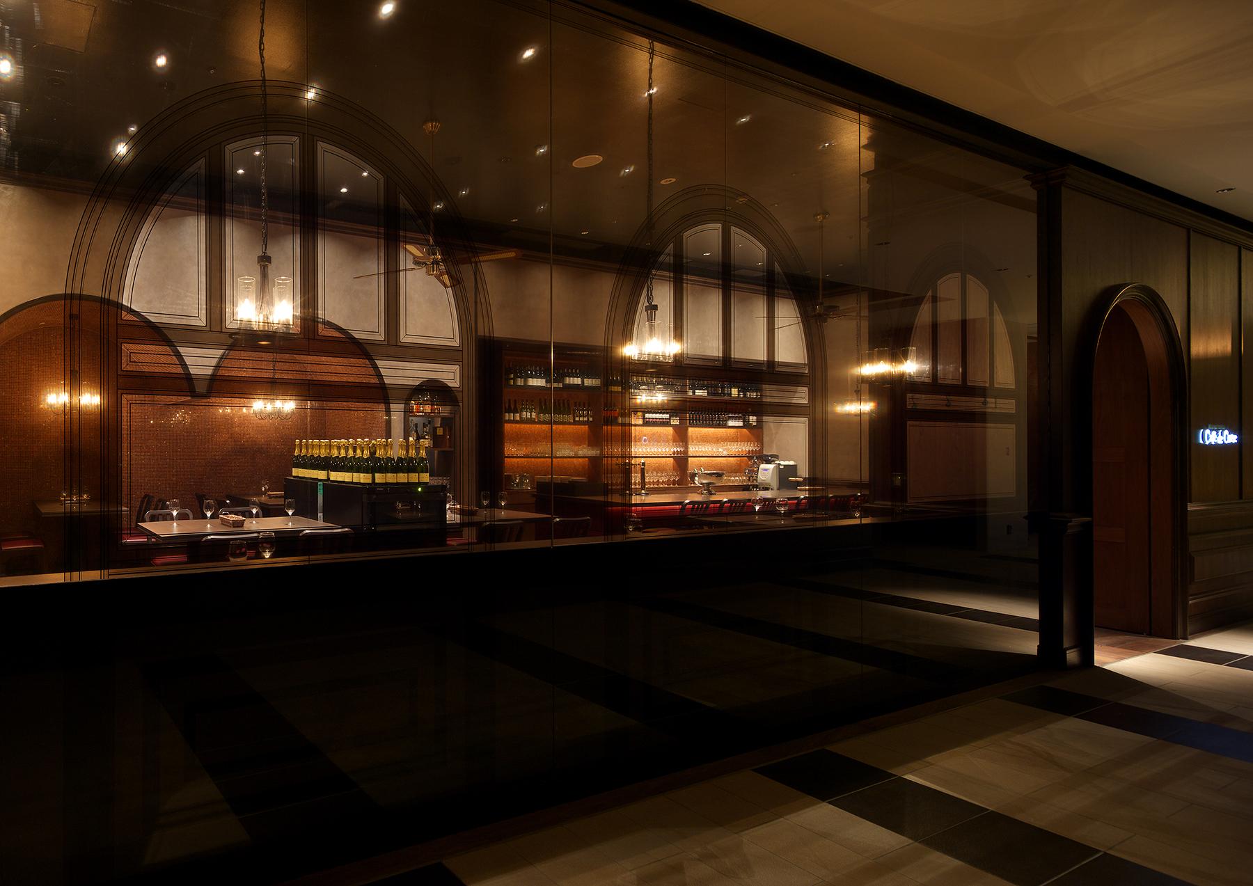 カフェ・ドゥ・コルス 店内画像